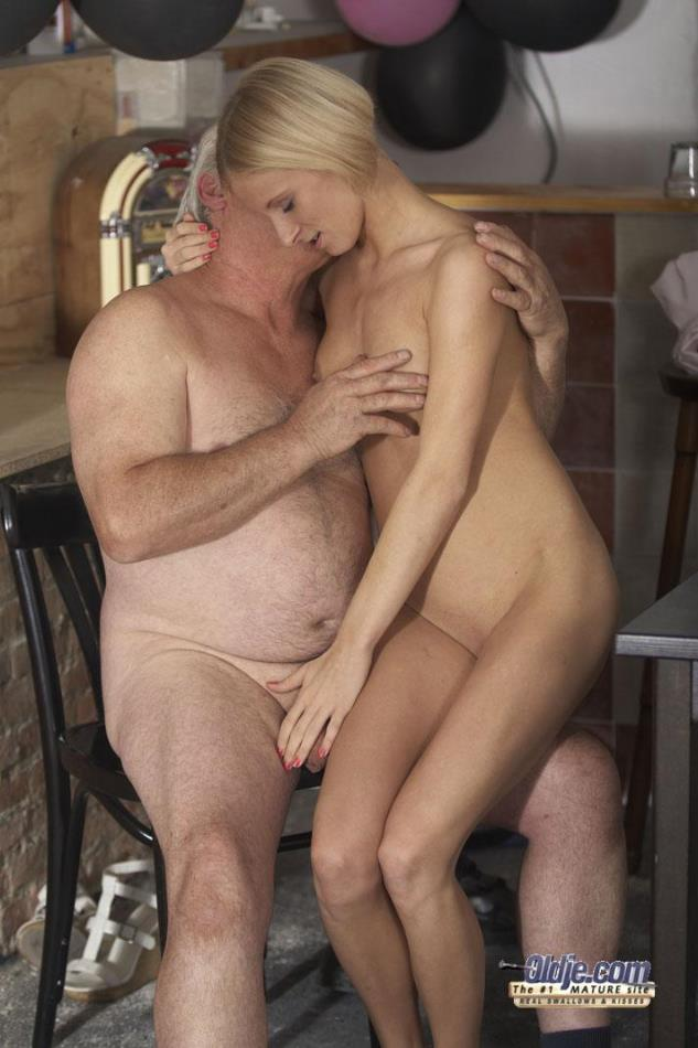 Men old sex with young ladies having 83