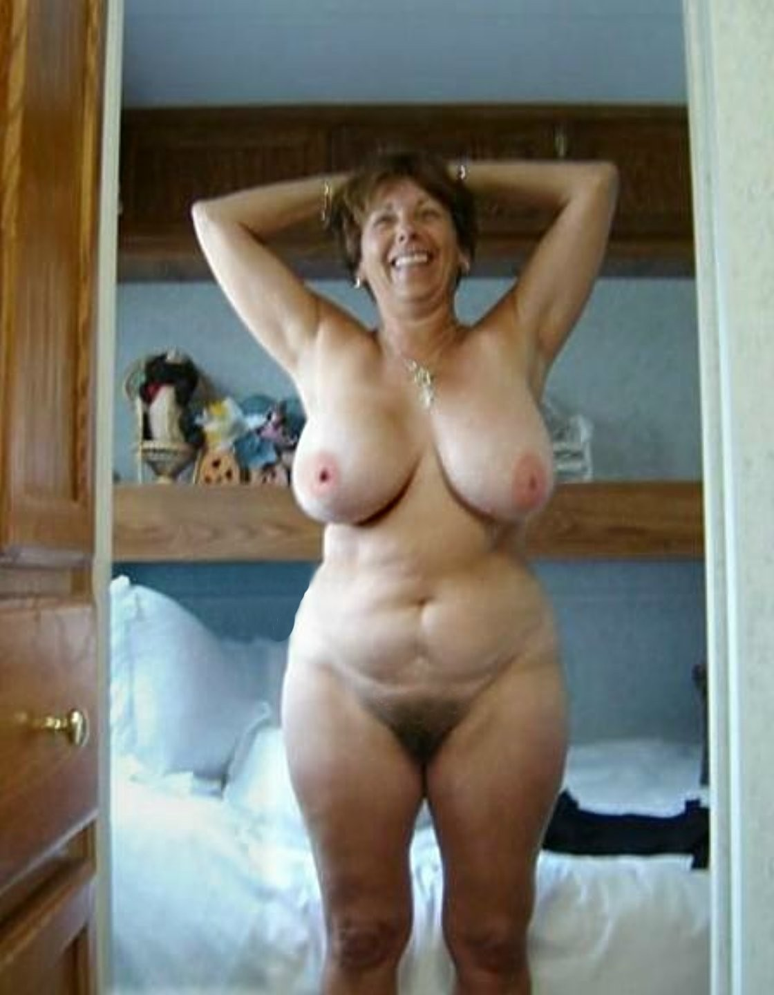 Tits old hanging Mature tits