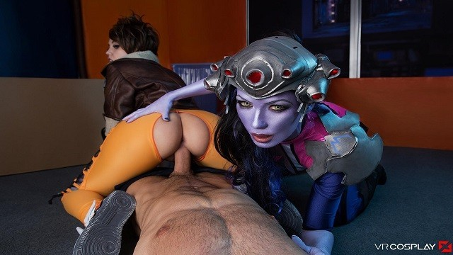 Tracer cosplay porn