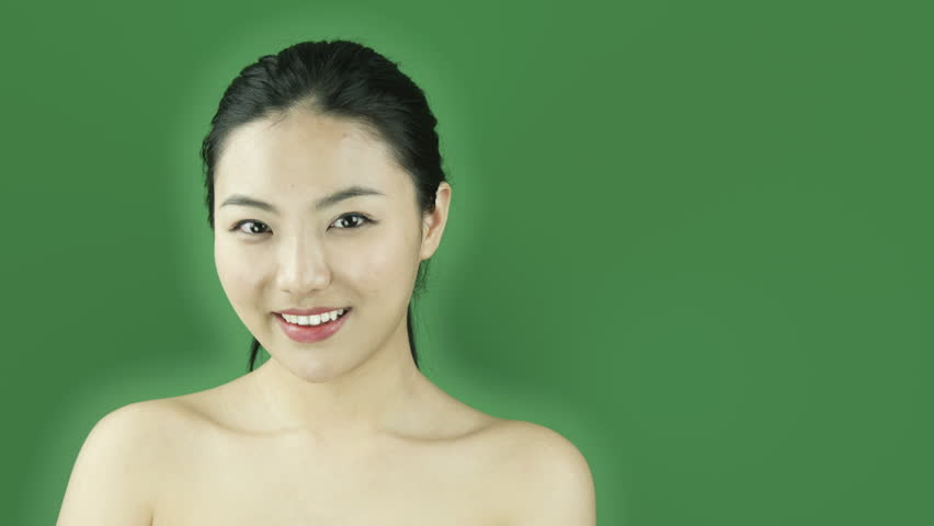 Young asian naked